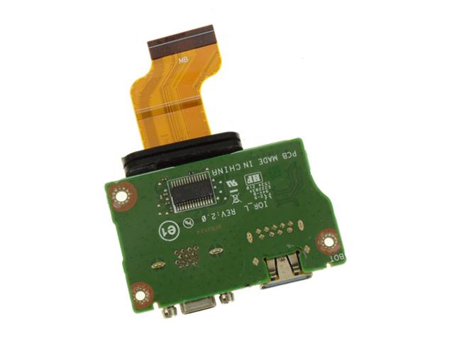 Latitude 12 Rugged 7202 USB IOIOI Port Board IOR/_L 17V4Y